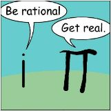Be Rational, Get Real.