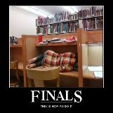 Finals, this is how we do it