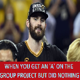Kevin Love Gets A's On Group Projects