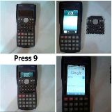 Phone In Calculator Exam Cheat