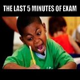 The Last 5 Minutes of Exam
