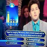 Who Wants to be a Millionaire, Watts, Horsepower