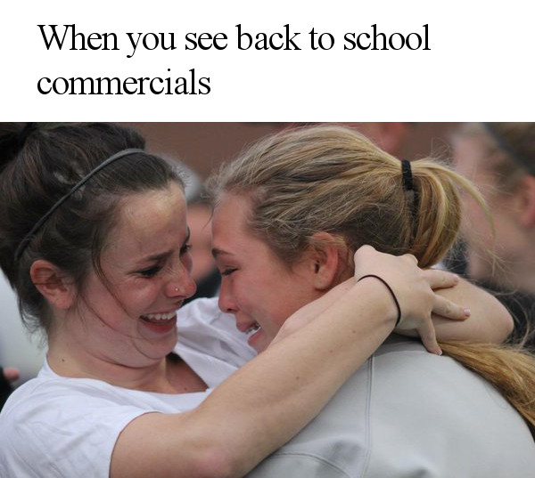 Back to School Commercials are Scary