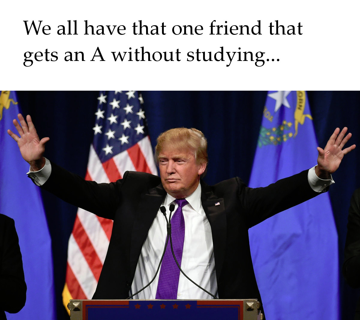 Donald Trump Can Be President Without Studying