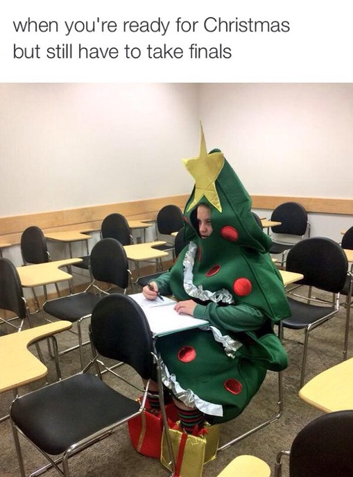 Final Exams During Christmas