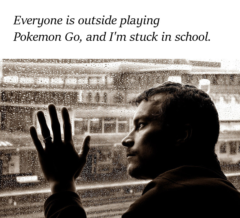 I want to Pokemon Go outside