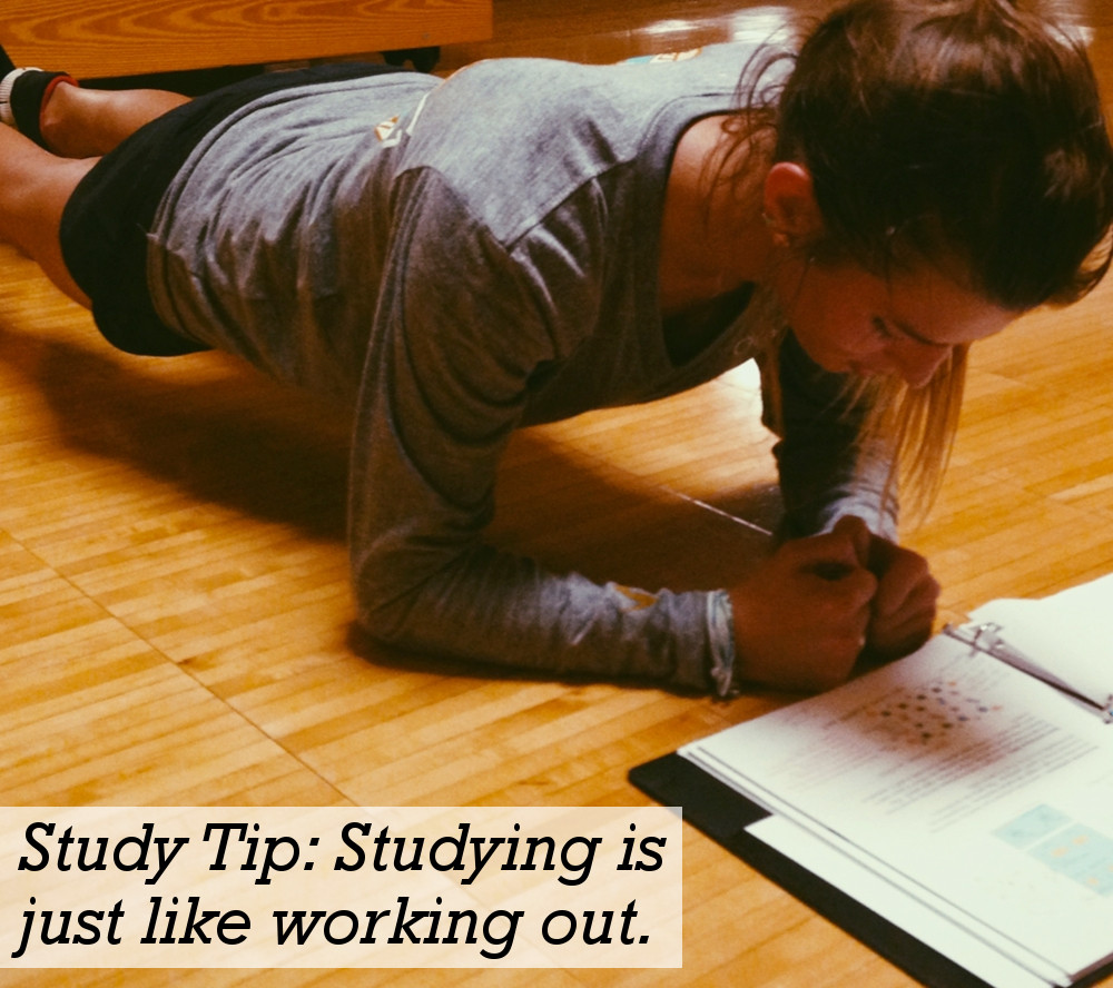 Studying Is Like Working Out